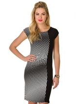 Target Geometric Dot Print Dress by Colletta - $59.90