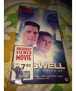 VTG 1994 Ex-Rental Roswell The U.F.O Cover-Up VHS Tape Kyle Maclachlan S... - $10.83