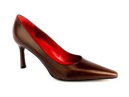 Anne Klein Amigo Womens Leather Pumps Size 7.5 M US - $59.39