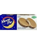 Moon Pie The Original Marshmallow Sandwich Salted Caramel Minis - $7.99