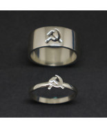 Communist Promise Ring for Couples - $92.00
