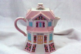"Lenox 2004 The Lenox Village Victorian House Shaped Creamer ""The Creamery"" - $11.08"