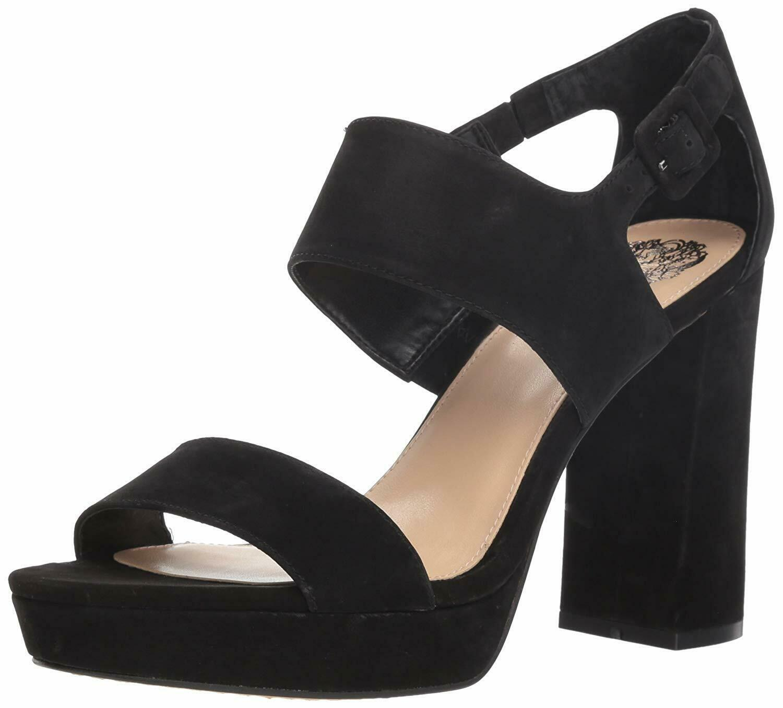 Vince Camuto Jayvid Platform Block Heel Sandals, Multiple Sizes Black VC-JAYVID image 2