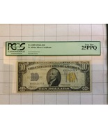 1934A North Africa Silver Certificate $10 Dollar Bank Note PCGS Very Fin... - $200.00
