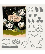 2019 Good Morning Magnolia NO.2 FLOWER Metal Cutting Dies and stamps DIY - $8.41+