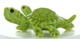 Hagen Renaker Miniature Turtle Mama and Baby Ceramic Figurine Set image 5