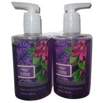 2 bottles Bath & Body Works Hand Sanitizer 7.6 oz  Wild Passion Flower - $29.99