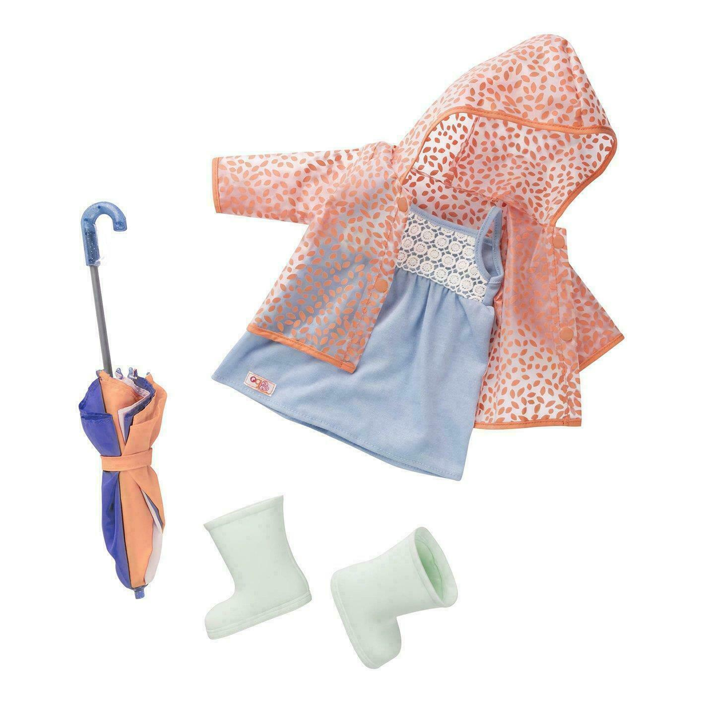 Our Generation Brighten Up A Rainy Day Deluxe Outfit - $35.80