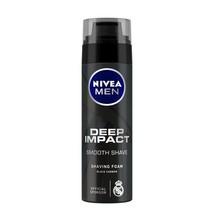 Nivea Men Deep Impact Smooth Shave Shaving Foam Black Carbon - 200 ML / 193 Gram - $12.86