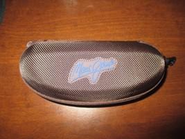 New Maui Jim Large Sunglass Glasses Eyeglass Zippered Case Hard Belt Cli... - $16.99