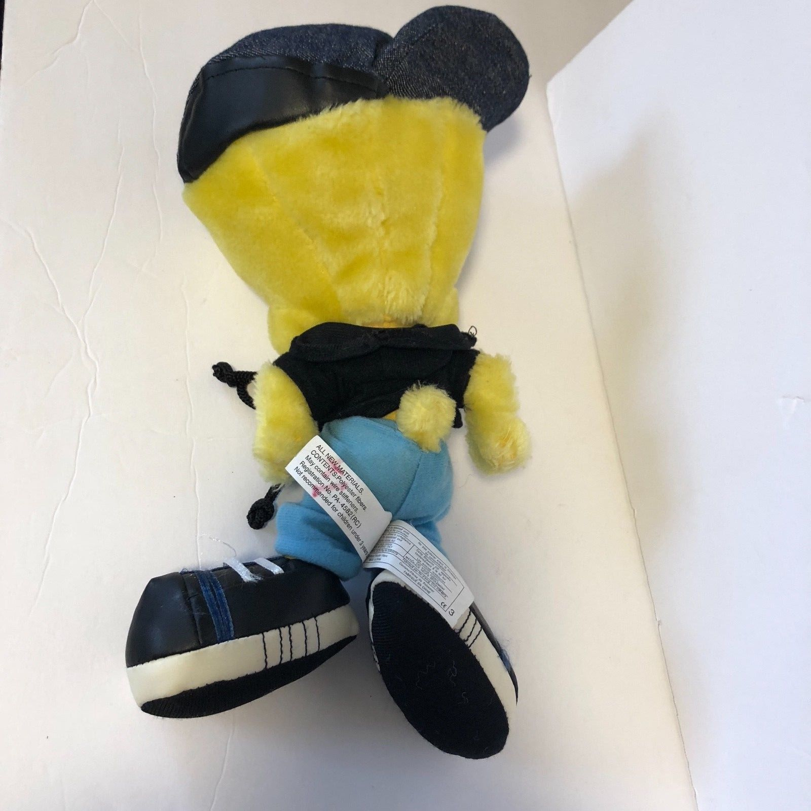 "Ace Tweety Plush Hip Hop Rapper Bird 11"" Tall"