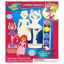 MasterPieces Works of Ahhh Musical Dancers  Large Wood Paint Kit - $17.81