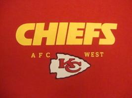NFL Kansas City Chiefs National Football League Fan Red T Shirt L  - $14.84