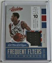 2016-17 DEMAR DEROZAN Panini Absolute Frequent Flyers Basketball Card - ... - $10.00