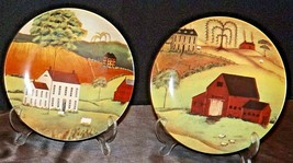 Commemorative Plates (Two) AA20-CP2275 Vintage