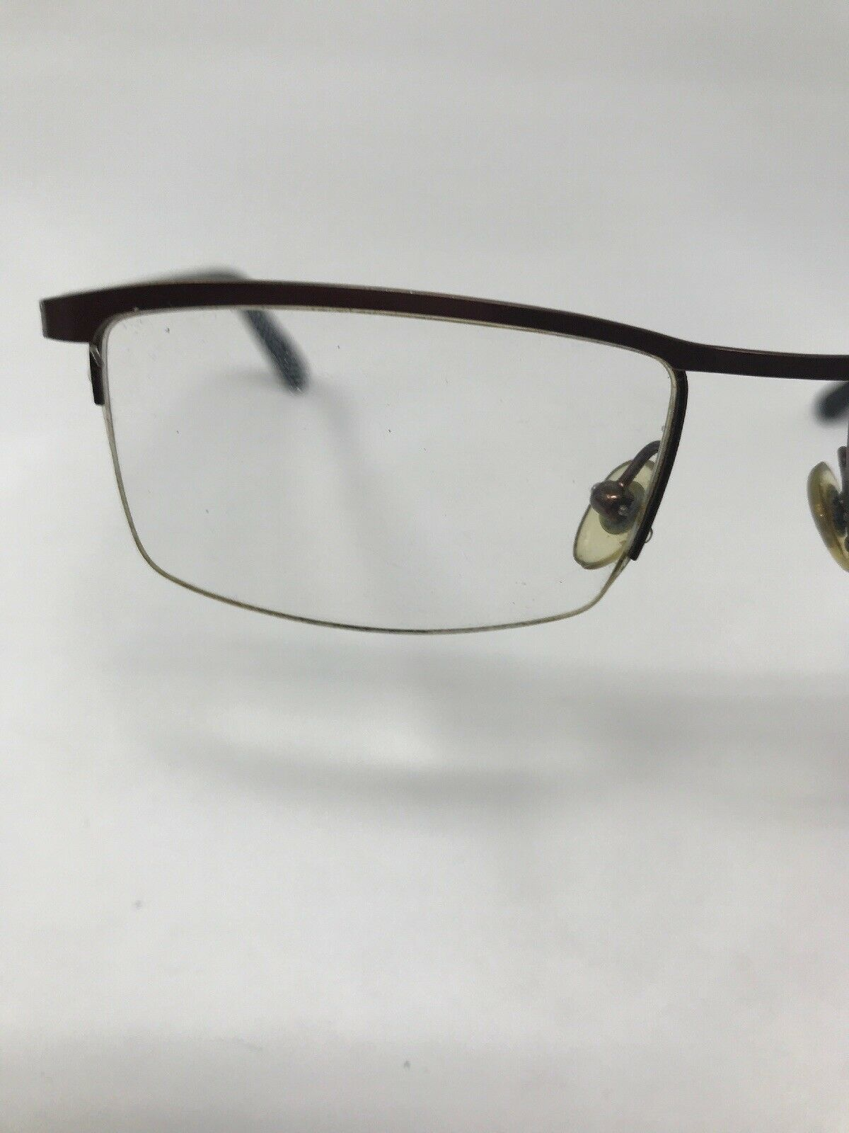 MICHAEL KORS Eyeglasses Frame MK335M 202 Half Rimless 51-17-140 Brown YP82
