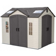 Lifetime 10x8 ft Garden Shed Kit - Double Doors (60001) - $1,498.65