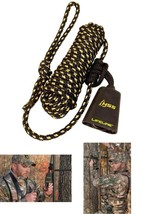 Hunter Safety System Reflective Recon Carabiner Cowbell Single Pack Black - $33.93