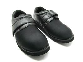 Propet Mens Black M PED 3 Pedwalker Walking Shoes Size US 8.5 D Hook & L... - $37.83
