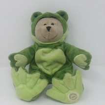 Bearista Bear Plush Collectible Starbucks 39th Edition Conservation Frog... - $17.72