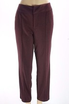 MIRACLESUIT Shapewear Plum Seamed detailed Ponte Ankle Pants NWOT 16 - $10.93