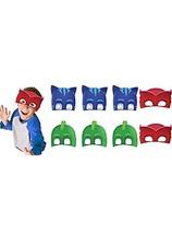 PJ Masks Paper Masks (16 Count) Party Supply for 16 Kids. Kids Love PJ Mask - $14.80