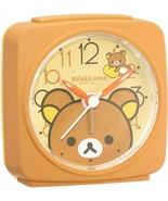 Rilakkuma Alarm Clock Analog Brown Gift Cute - $32.61