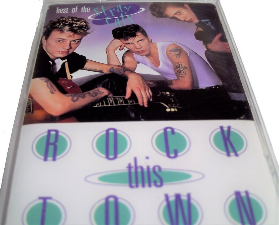 Stray Cats Best of the Stray Cats - Rock This Town Cassette