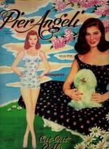 VINTAGE UNCUT 1955 PIER ANGELI PAPER DOLLS~#1 REPRODUCTION~GLAMOROUS/PRE... - $17.99