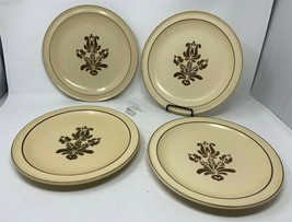 "Pfaltzgraff USA ""Village"" Set of 4 Dinner Plates - 10 1/4"" Diameter - Nice! - $21.99"