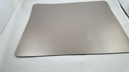 Large Two Sided Black and Bronze Mouse Pad Office Desk Protector and Blo... - $20.21