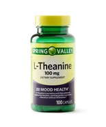 Spring Valley L-Theanine Capsules Mood Health, 100 mg, 100 Count..+ - $14.99