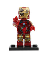Iron Man (Snap fingers) Avengers Endgame Minifigure Block Gift Toy New - $2.99