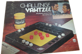 Vintage 1974 Challenge Yahtzee Board Game Milton Bradley Complete W/Scor... - $14.85