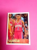 1996 Topps Allen Iverson Rookie Card #171 - $50.00