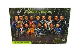 16X Autographed Monster Energy Cup Series First Nascar Playoffs (Race Into Histo - $494.96