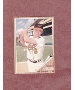 1962 Topps # 513 Whitey Herzog Baltimore Orioles Nice vg-ex Card - $3.99