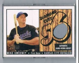 2003 Bowman Heritage Diamond Cuts Relics #MS Mike Sweeney Jersey NM-MT MEM  - $39.55