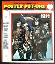 KISS 1976 Tour Poster Put-On Sealed in Package - $14.98