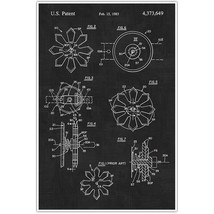 Weapons Patent Print, Throwing Stars Patent Blueprint , Weapon Photo Art - $11.39+