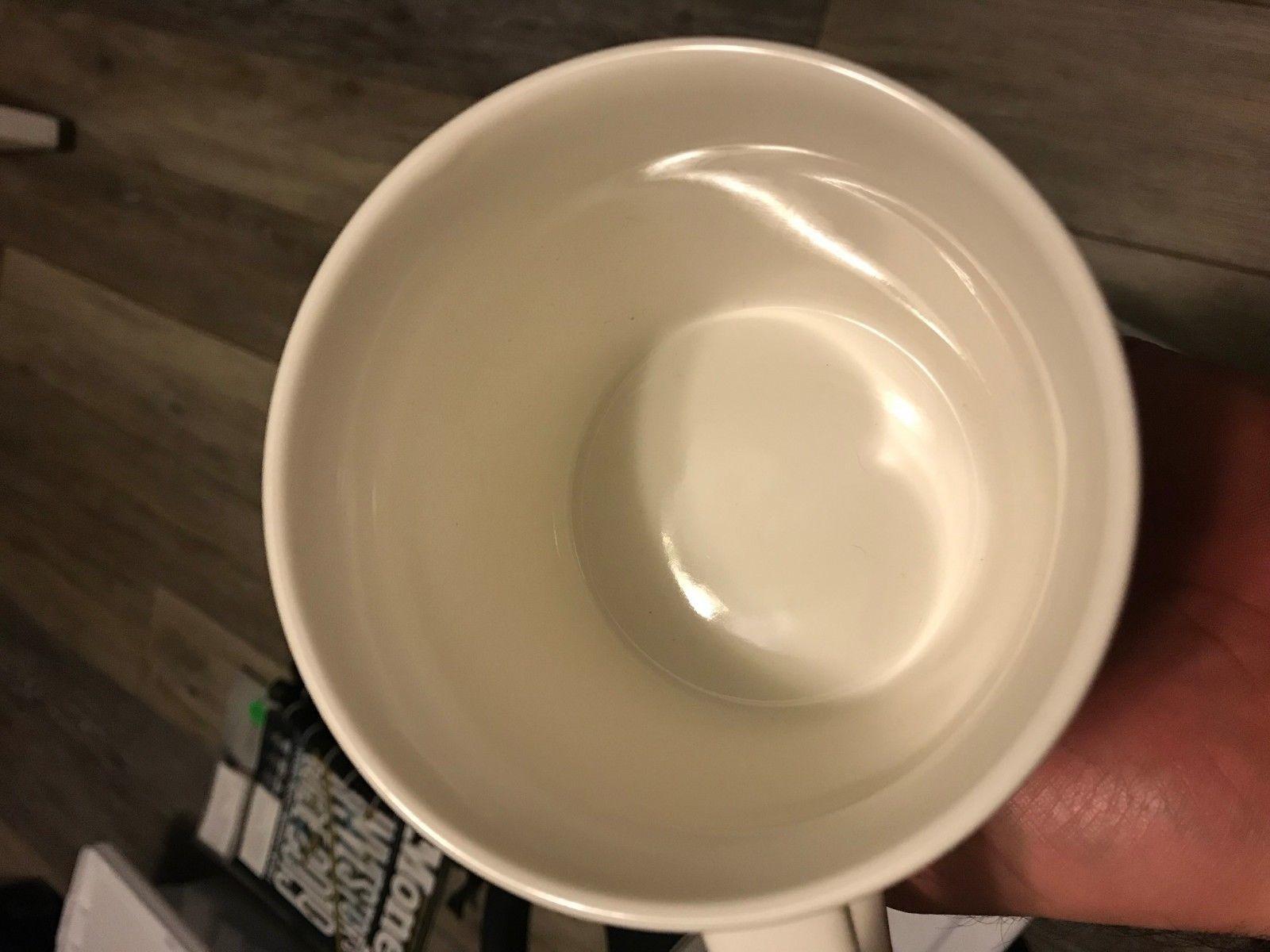 Starbucks White Mug 14Fl/Oz 414ml