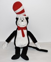"Plush Dr Seuss Large 22"" Cat In The Hat Kohls Cares For Kids Stuffed Toy - $12.19"
