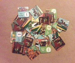 Disney Kim Possible Board Game Replacement Pieces Parts 28 Mission Tiles - $8.59