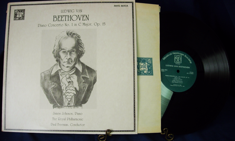 The Royal Philharmonic BEETHOVEN ~ Paul Freeman, conductor - MHS 4693A