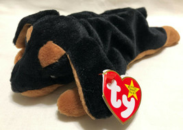 TY BEANIE BABY DOBY DATE 10/9/1996, P.E. STYLE 4110 - NEW OLD STOCK - $9.99