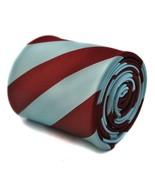 Claret & Light Blue Barber Striped Mens Tie FT627 West Ham Football Club FC - $18.95