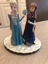 Extremely Rare! Walt Disney Frozen Anna Elsa Standing Together Figurine Statue  - $297.00