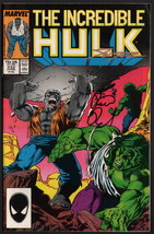 SIGNED Peter David & Steve Geiger Incredible Hulk #332 w/ Todd McFarlane... - $19.79
