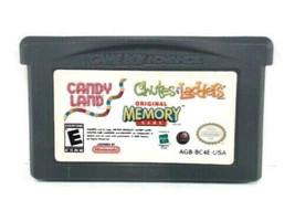 Candy Land, Original Memory Game, Chutes Ladders  For Nintendo Game Boy ... - $7.91
