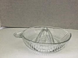 Vintage Heavy Glass Lemon Orange Citrus Hand Juicer Reamer - $18.65